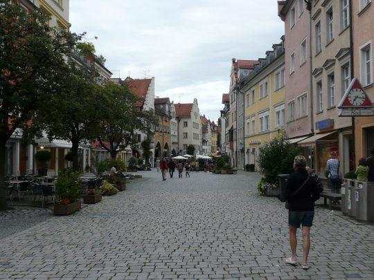 Fietsreis fietsroute review reisverslag fietsbedevaart Romereis Sigmaringen Lindau