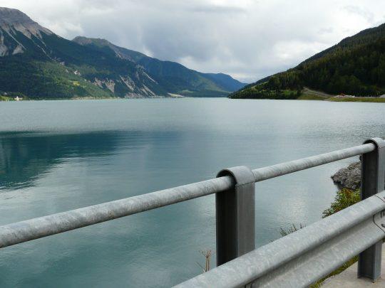 Fietsreis fietsroute review reisverslag fietsbedevaart Romereis Reschensee
