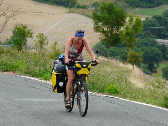 Fietsreis fietsroute review reisverslag fietsbedevaart Romereis
