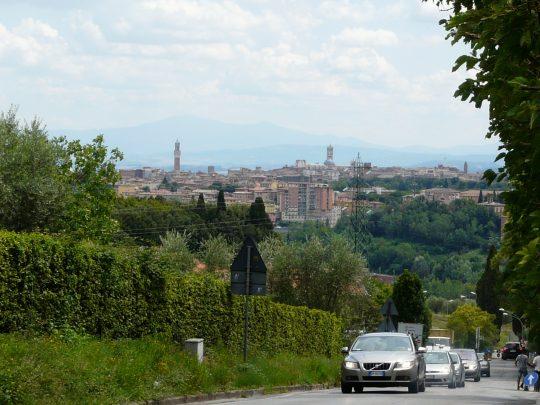 Fietsreis fietsroute review reisverslag fietsbedevaart Romereis Siena