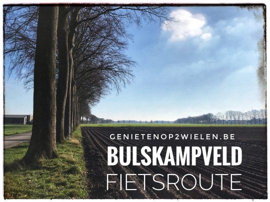 Fietsroute fietsblog review fietslus fietsverslagen Bulskampveld