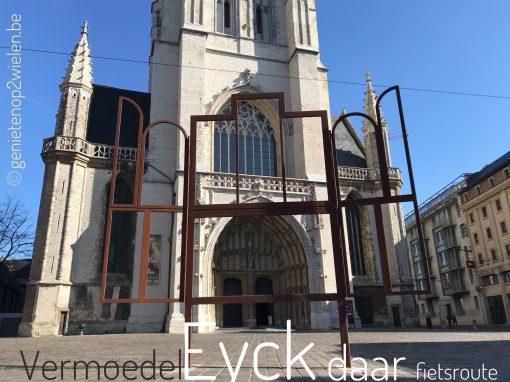 Fietsroute fietsblog review fietslus fietsverslagen Van Eyck Vermoedeleyck Sint-Baafs kathedraal
