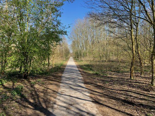 Fietsroute fietsblog review fietslus fietsverslagen Gentbrugse Meersen