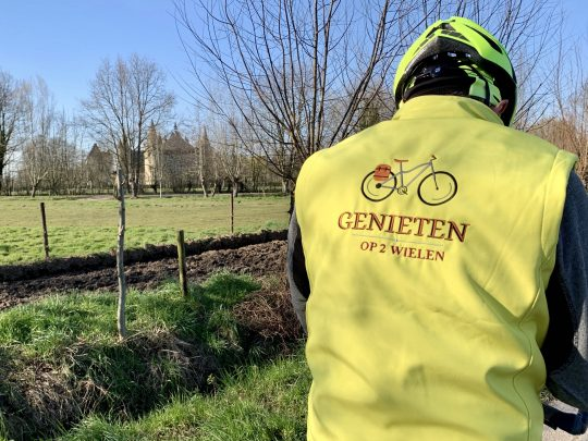 Fietsroute fietsblog review fietslus fietsverslagen Laarne kasteel