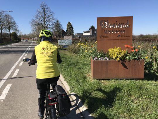 Fietsroute fietsblog review fietslus fietsverslagen Bloeiend Oost-Vlaanderen Wetteren