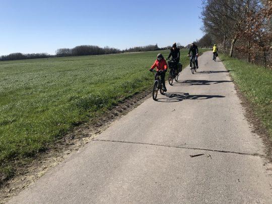 Fietsroute fietsblog review fietslus fietsverslagen scheldeland Kalkense Meersen