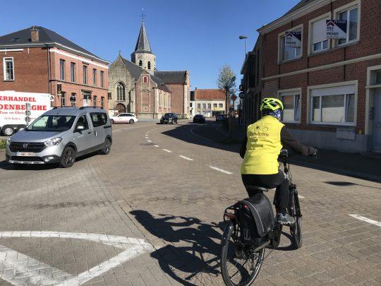 Fietsroute fietsblog review fietslus fietsverslagen scheldeland Kalken