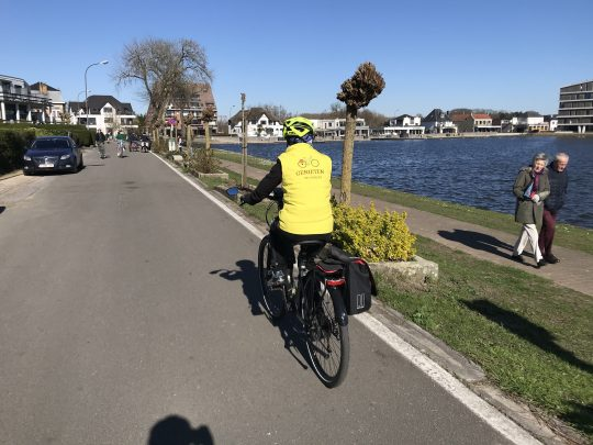 Fietsroute fietsblog review fietslus fietsverslagen scheldeland Donkmeer Overmere