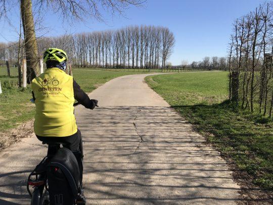 Fietsroute fietsblog review fietslus fietsverslagen scheldeland