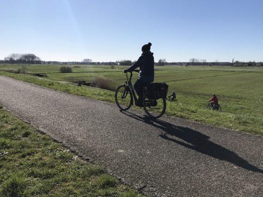 Fietsroute fietsblog review fietslus fietsverslagen jaagpad Schelde