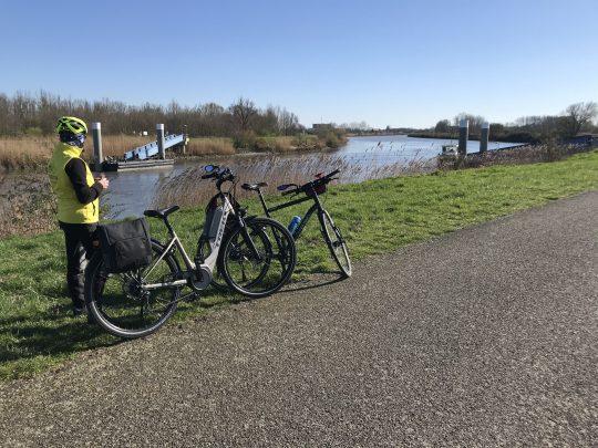 Fietsroute fietsblog review fietslus fietsverslagen jaagpad Schelde Appelsveer