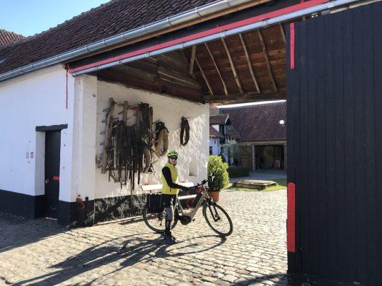 Fietsroute fietsblog review fietslus fietsverslagen hof van Boeygem