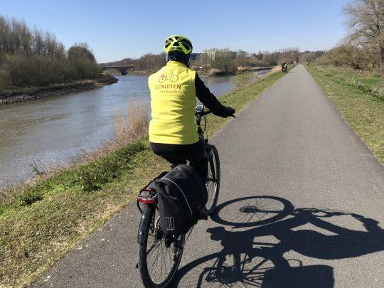 Fietsroute, fietsblog, review, roze olifant, Schelde, Ringvaart, Melle