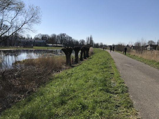 Fietsroute, fietsblog, review, roze olifant, Gentbrugse Meersen