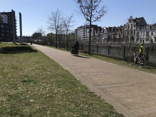 Fietsroute fietsblog review fietslus fietsverslagen Gent