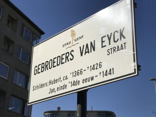 Fietsroute fietsblog review fietslus fietsverslagen Gent Van Eyck