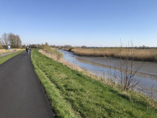 Fietsroute fietsblog review fietslus fietsverslagen Schelde