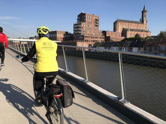 Fietsroute fietsblog review fietslus fietsverslagen Wetteren fietsbrug