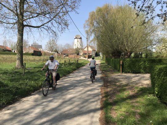 Fietsroute, fietsblog, review, zalmroute, zalmvallei, zwalmstreek, water, Baaigem