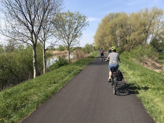 Fietsroute, fietsblog, review, roze olifant, Schelde