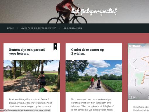 Het fietsperspectief