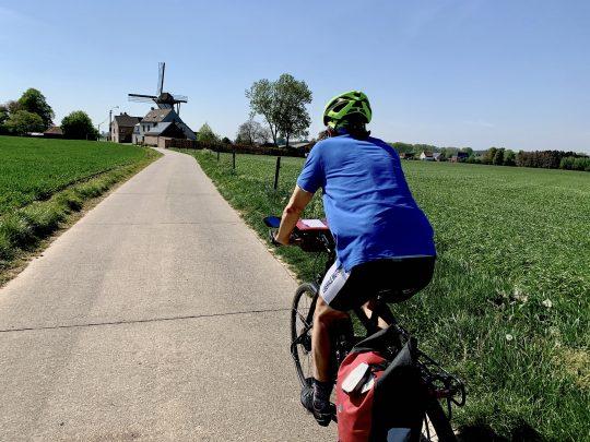 Fietsroute, fietsblog, review, rodelandroute, Balegem, Klepmolen