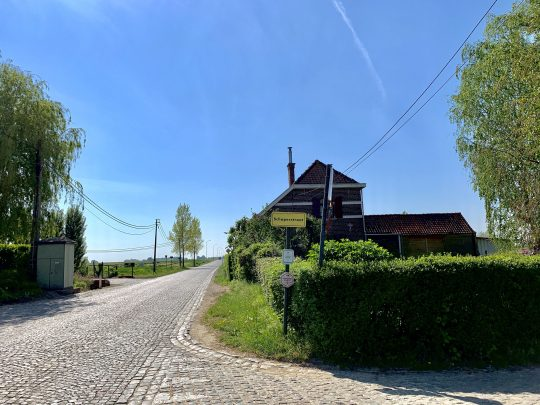 Fietsroute, fietsblog, review, rodelandroute, Oosterzele, Lange Munte