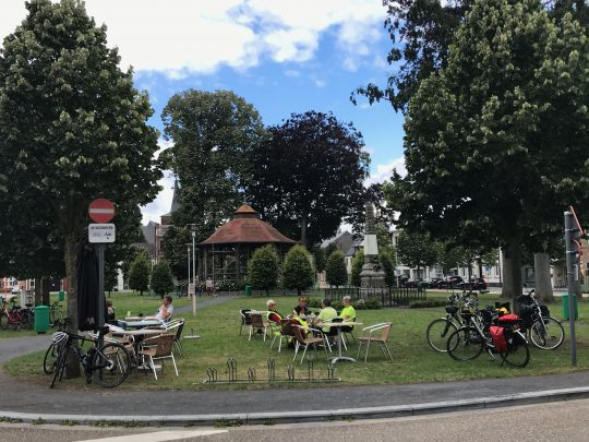 Fietsroute, fietsblog, review, Paters en prinsen culinaire fietsroute, Zichem
