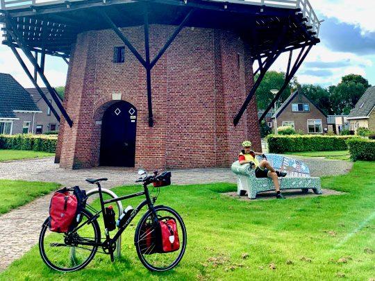 Fietsroute, fietsblog, review, rondje Drenthe, Nijeveen, Sterrenberg