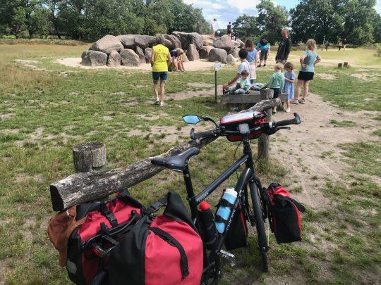 Fietsroute, fietsblog, review, rondje Drenthe, Havelterberg, hunebed