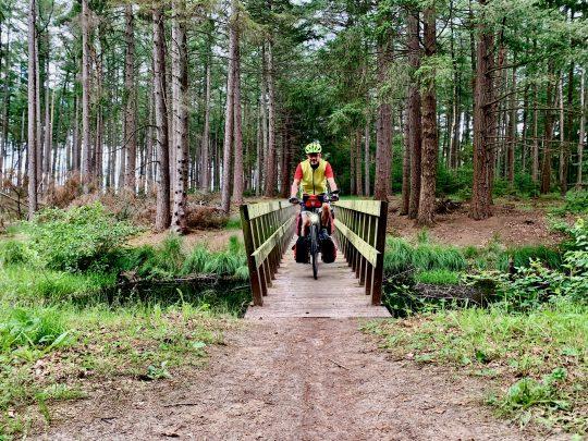 Fietsroute, fietsblog, review, rondje Drenthe, Fochteloërveen