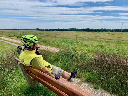 Fietsroute, fietsblog, review, rondje Drenthe, Groningen Airport Eelde