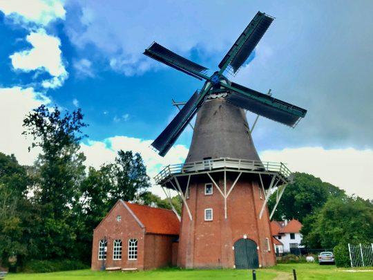 Fietsroute, fietsblog, review, rondje Drenthe, Gieten, windmolen