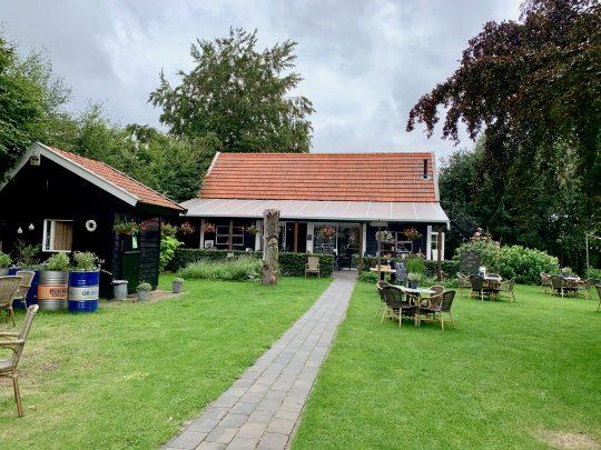 Fietsroute, fietsblog, review, rondje Drenthe, Theetuin D'Aole Pastorie