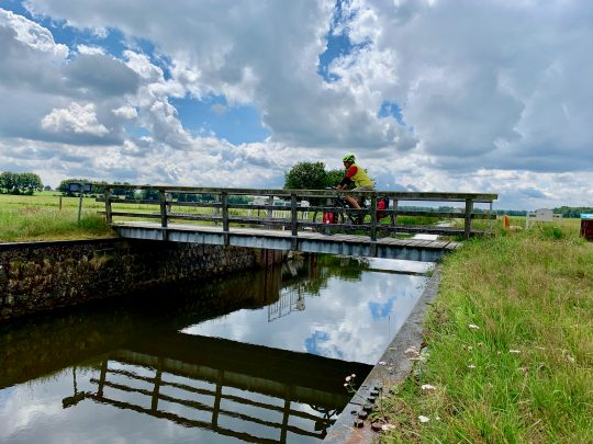 Fietsroute, fietsblog, review, rondje Drenthe, Bronneger