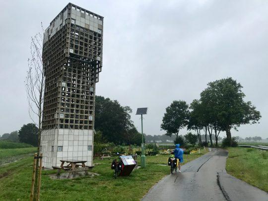 Fietsroute, fietsblog, review, rondje Drenthe, luchtwachttoren