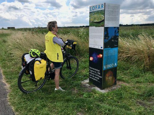Fietsroute, fietsblog, review, rondje Drenthe, Buinen, Lofar