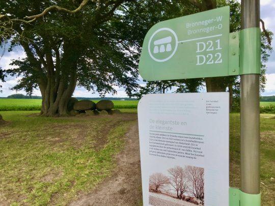 Fietsroute, fietsblog, review, rondje Drenthe, hunebed, Bronneger