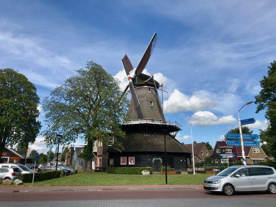Fietsroute, fietsblog, review, rondje Drenthe, Wiekermolen, De Wijk