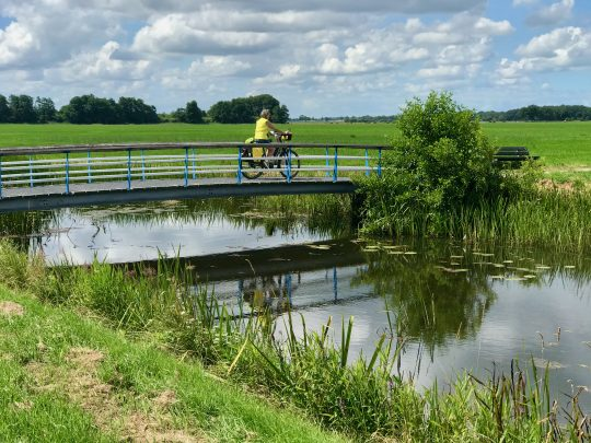 Fietsroute, fietsblog, review, rondje Drenthe, Steenwijker Aa