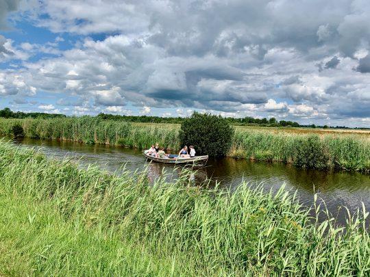 Fietsroute, fietsblog, review, rondje Drenthe, Leekstermeer