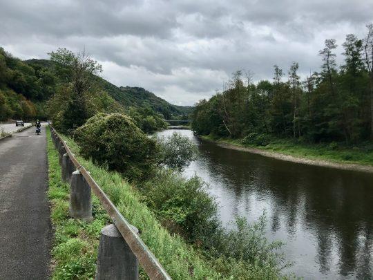 Fietsroute, fietsblog, review, oostkantons, Rondje Hoge Venen, Esneux, Ourthe