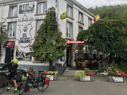 Fietsroute, fietsblog, review, oostkantons, Rondje Hoge Venen, Hôtel Bonhomme, Remouchamps