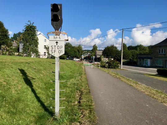 Fietsroute, fietsblog, review, oostkantons, Rondje Hoge Venen, RAVel L45, Weismes, Waimes
