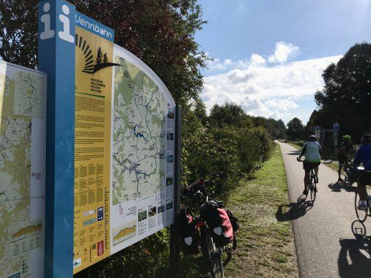 Fietsroute, fietsblog, review, oostkantons, Rondje Hoge Venen, Vennbahn, Faymonville
