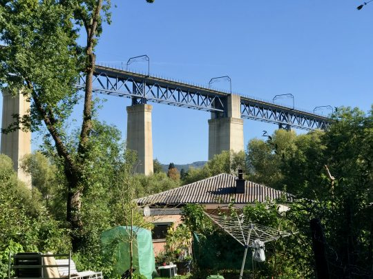 Fietsroute, fietsblog, review, oostkantons, Rondje Hoge Venen, Moresnnet, viaduct