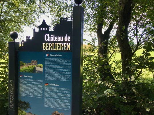 Fietsroute, fietsblog, review, oostkantons, Rondje Hoge Venen, Château de Berlieren