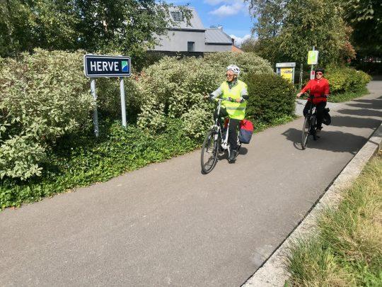 Fietsroute, fietsblog, review, oostkantons, Rondje Hoge Venen, Land van Herve, RAVel L38, Herve