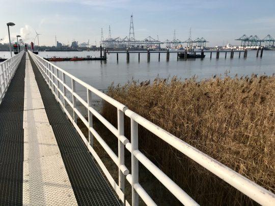 Fietsroute, fietsblog, review, Antwerpen, haven, Fort Lillo