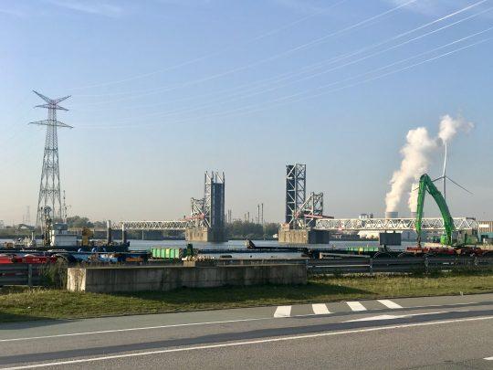 Fietsroute, fietsblog, review, Antwerpen, haven, Lillobrug